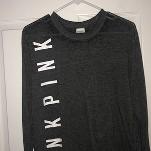 Grey Pink By Victoria Secret Long Sleeve
